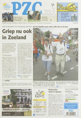 Provinciale Zeeuwse Courant 2009-07-25
