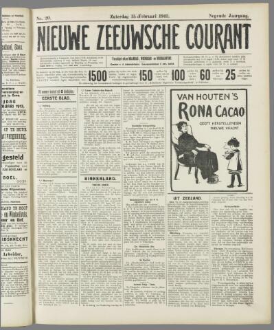 Nieuwe Zeeuwsche Courant 1913-02-15
