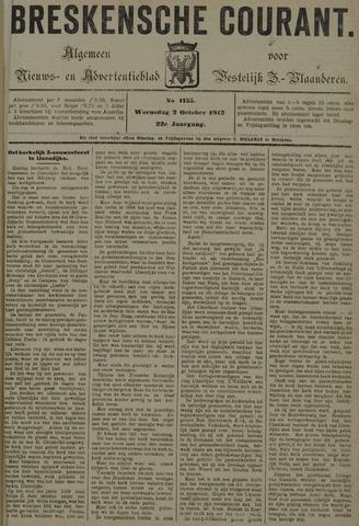Breskensche Courant 1912