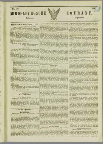 Middelburgsche Courant 1847-09-04