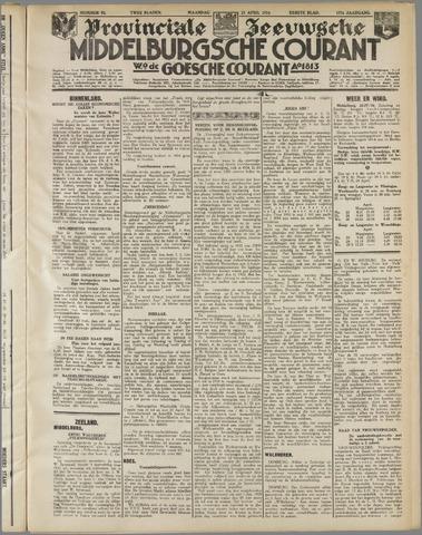 Middelburgsche Courant 1934-04-23