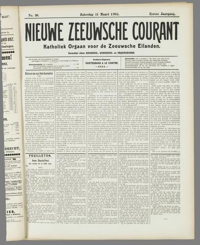 Nieuwe Zeeuwsche Courant 1905-03-11