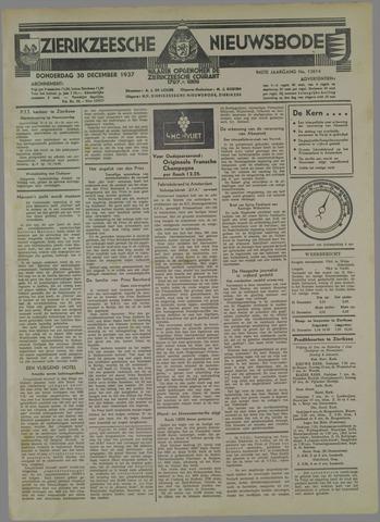 Zierikzeesche Nieuwsbode 1937-12-30
