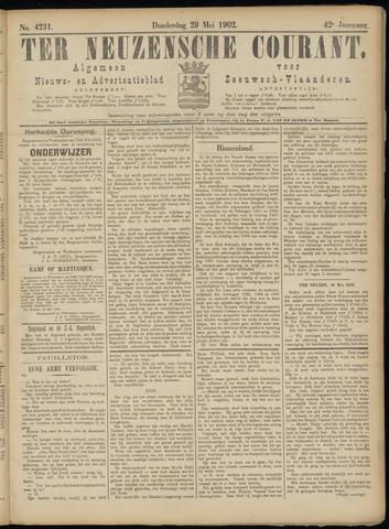 Ter Neuzensche Courant. Algemeen Nieuws- en Advertentieblad voor Zeeuwsch-Vlaanderen / Neuzensche Courant ... (idem) / (Algemeen) nieuws en advertentieblad voor Zeeuwsch-Vlaanderen 1902-05-29