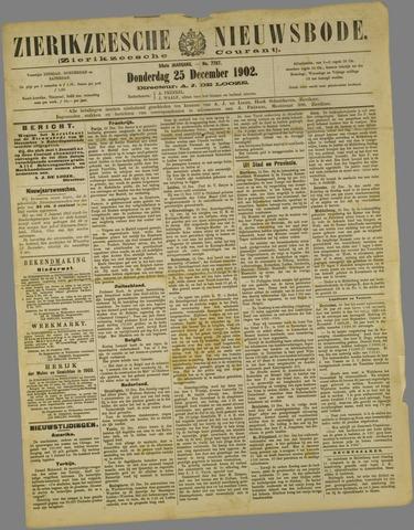 Zierikzeesche Nieuwsbode 1902-12-25