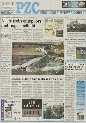 Provinciale Zeeuwse Courant 2000-02-07