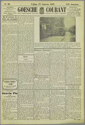 Goessche Courant 1927-08-12