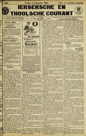 Ierseksche en Thoolsche Courant 1925-09-04