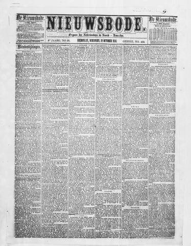 Sheboygan Nieuwsbode 1858-10-12