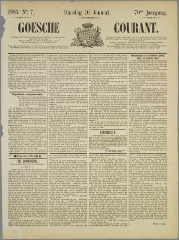 Goessche Courant 1883-01-16