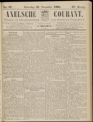 Axelsche Courant 1905-11-25