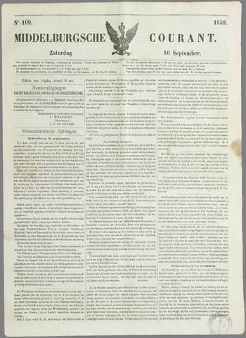 Middelburgsche Courant 1859-09-10
