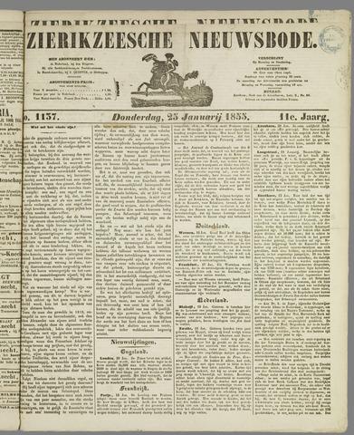 Zierikzeesche Nieuwsbode 1855-01-25