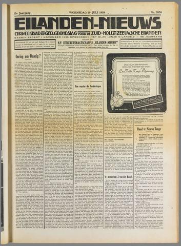 Eilanden-nieuws. Christelijk streekblad op gereformeerde grondslag 1939-07-19