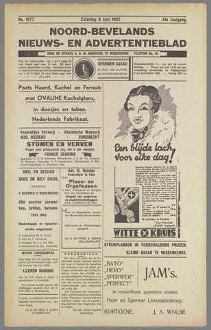 Noord-Bevelands Nieuws- en advertentieblad 1935-06-08