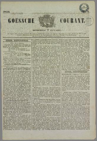 Goessche Courant 1853-01-06