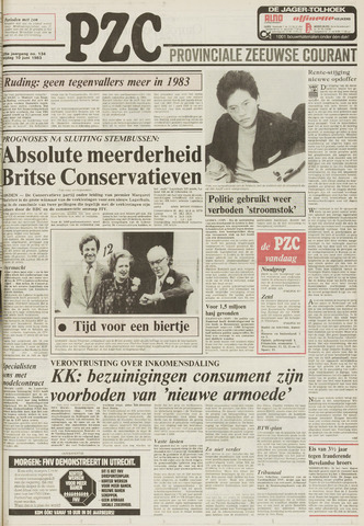 Provinciale Zeeuwse Courant 1983-06-10