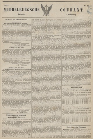 Middelburgsche Courant 1853-02-05