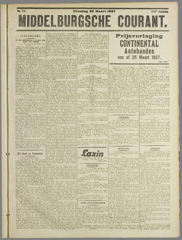 Middelburgsche Courant 1927-03-29