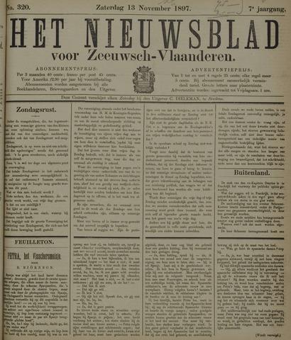Nieuwsblad voor Zeeuwsch-Vlaanderen 1897-11-13
