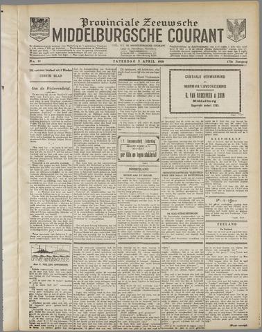 Middelburgsche Courant 1930-04-05