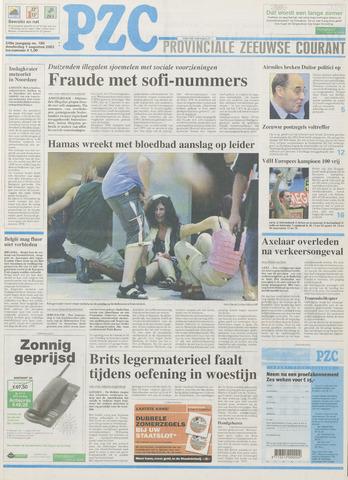 Provinciale Zeeuwse Courant 2002-08-01