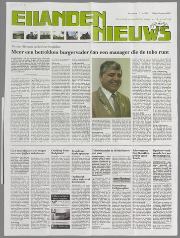 Eilanden-nieuws. Christelijk streekblad op gereformeerde grondslag 2007-08-17