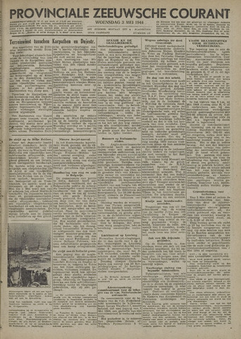 Provinciale Zeeuwse Courant 1944-05-03