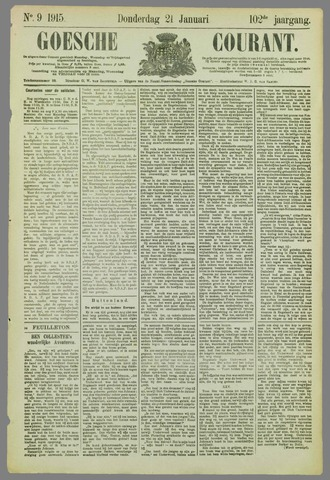 Goessche Courant 1915-01-21