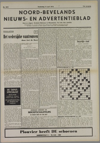 Noord-Bevelands Nieuws- en advertentieblad 1975-04-10