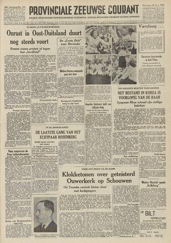 Provinciale Zeeuwse Courant 1953-06-22