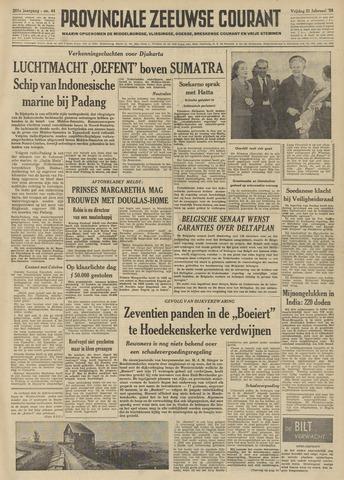 Provinciale Zeeuwse Courant 1958-02-21