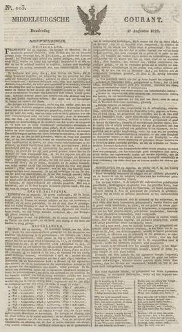 Middelburgsche Courant 1829-08-27