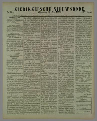 Zierikzeesche Nieuwsbode 1888-05-15