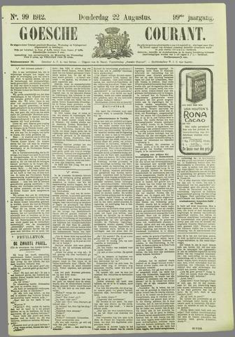Goessche Courant 1912-08-22