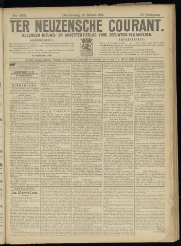 Ter Neuzensche Courant. Algemeen Nieuws- en Advertentieblad voor Zeeuwsch-Vlaanderen / Neuzensche Courant ... (idem) / (Algemeen) nieuws en advertentieblad voor Zeeuwsch-Vlaanderen 1915-03-25