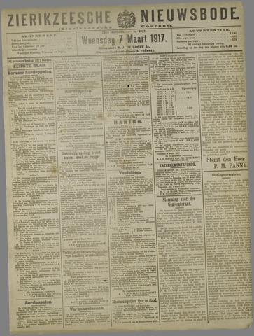 Zierikzeesche Nieuwsbode 1917-03-07