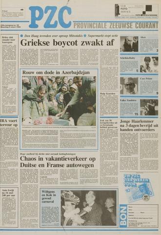 Provinciale Zeeuwse Courant 1992-03-02