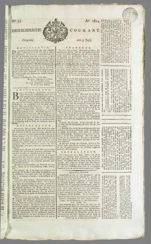 Zierikzeesche Courant 1814-07-05