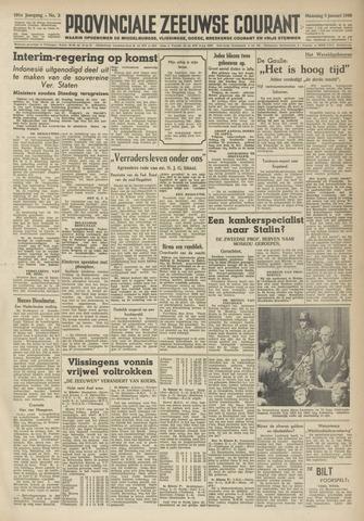 Provinciale Zeeuwse Courant 1948-01-05