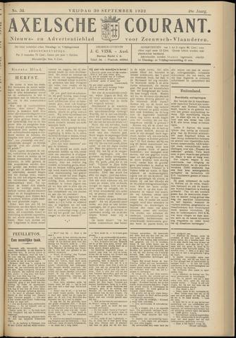 Axelsche Courant 1932-09-30