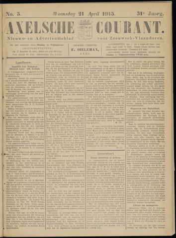 Axelsche Courant 1915-04-21