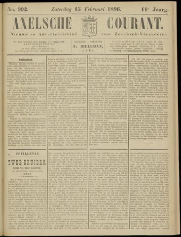 Axelsche Courant 1896-02-15