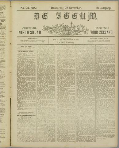De Zeeuw. Christelijk-historisch nieuwsblad voor Zeeland 1902-11-27