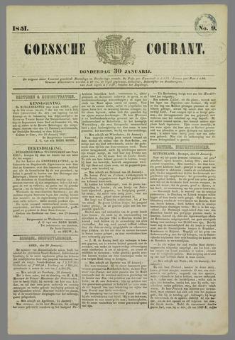 Goessche Courant 1851-01-30