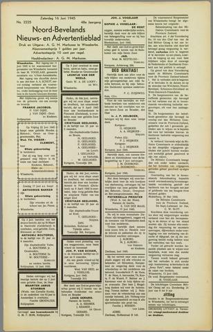 Noord-Bevelands Nieuws- en advertentieblad 1945-06-16