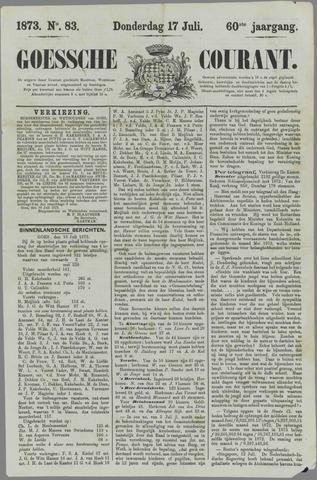 Goessche Courant 1873-07-17