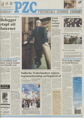 Provinciale Zeeuwse Courant 2000-03-22