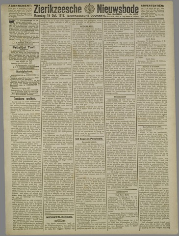 Zierikzeesche Nieuwsbode 1917-10-15
