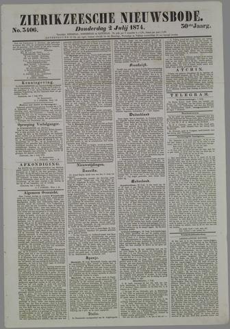 Zierikzeesche Nieuwsbode 1874-07-02